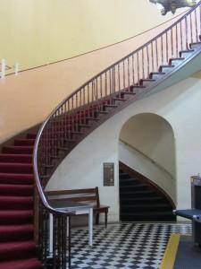 Stairwell in the rotunda, Supreme Court Sydney