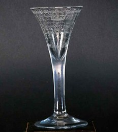 This 'Amen' glass sold for 43000 pounds last November in UK.