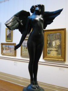 'Psyche' by C. Web Gilbert, Art Gallery of Ballarat