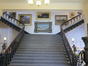 Stairway leading up to galleries, Art Gallery of Ballarat
