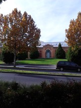 The original building of the Bendigo Art Gallery