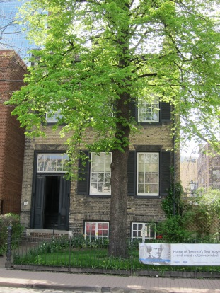 While in Toronto we visited the final home of William Lyon Mackenzie