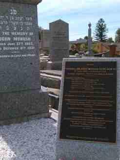 Sir John Monash's grave