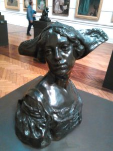 'The Dutch Cap' by Charles Web Gilbert. An unfortunate name for a sculpture, perhaps.
