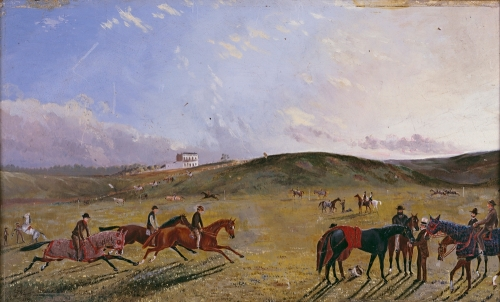 Flemington racecourse 1867