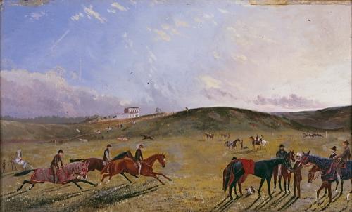 Flemington racecourse 1867