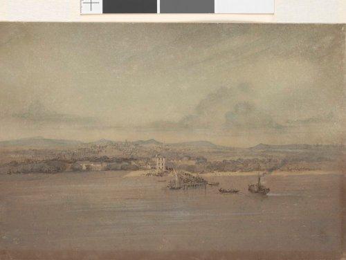 Sandridge from Hobsons Bay