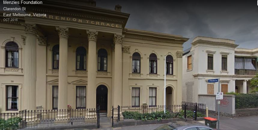 Redmond barry s house in east melbourne the resident for 18 jolimont terrace east melbourne
