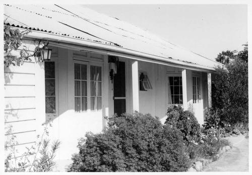 McCrae. McCrae Cottage Homestead Charles St.1964